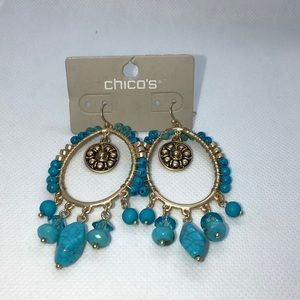 Chico's gorgeous earrings